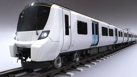 How the new Great Northern class 700 trains will look.