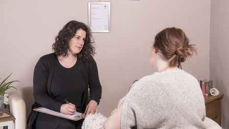 Holistic health expert and Harlan Therapy founder Rebecca Kelly at her base in Bucklersbury. Picture