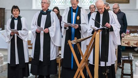The service was led by The Venerable Robin King, Archdeacon of Stansted