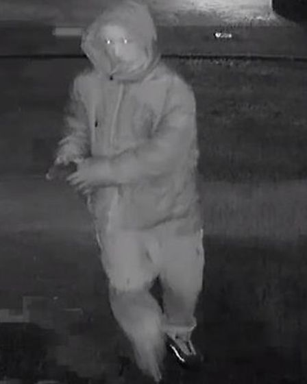 Police are still investigating a similar incident in Poplars and would like to speak to this man. Pi