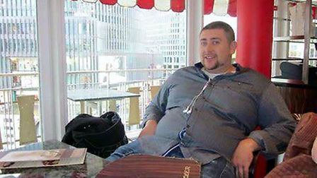 Brendan Wren weighed 21 and a half stone before joining Slimming World in July 2015. Picture: Suppli