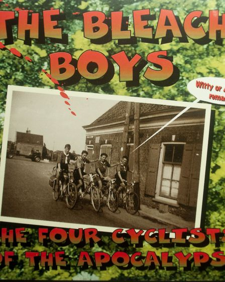 The Bleach Boys' debut album The Four Cyclists of the Apocalypse. Picture: The Bleach Boys