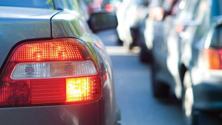 There are queues on the A1(M) southbound near Stevenage this morning.