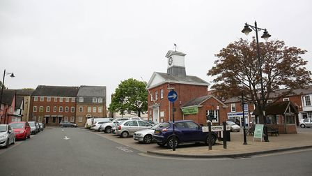 It is hoped the new parking saystem will help ensure people can use the town centre. Picture: Danny