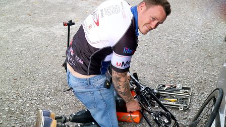 Henlow veteran Michael Swain, who has been nominated for an Endeavour Fund award. Picture: Endeavour
