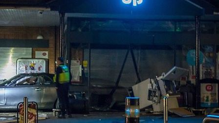 Stotfold Co-op has been targeted by thieves twice this year alone. Picture: localcommunitytv.co.uk