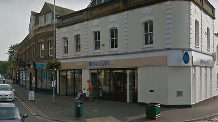 The former Sandy branch of Barclays. Picture: Google Street View