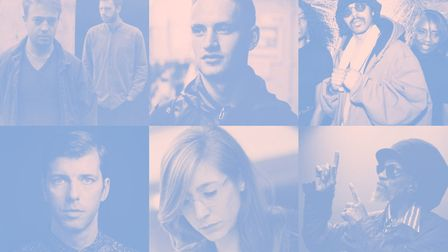 Some of the new artists revealed for Farr Festival 2018