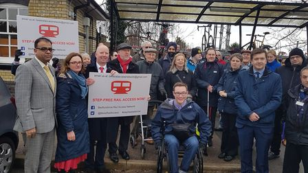 Shadow Transport Minister Andy McDonald MP and Shadow Rail Minister Rachel Maskell MP and Mohammad Y