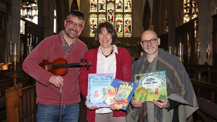 Nick Evans-Pughe, Susie Murray and children's author James Mayhew are organising a children's concer