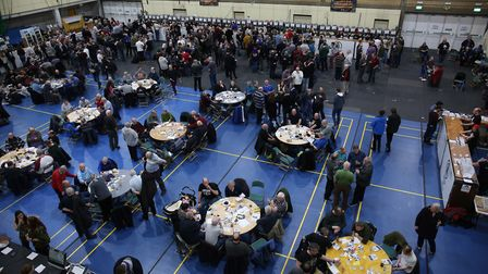 Visitors to the Stevenage Beer & Cider Festival 2018. Picture: Danny Loo