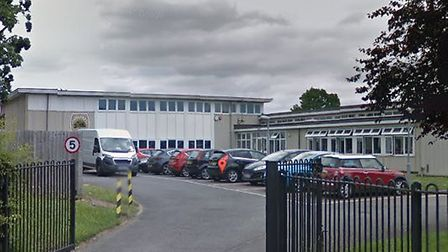 Fairlands Primary School had to be evacuated this morning. Picture: Google Streetview