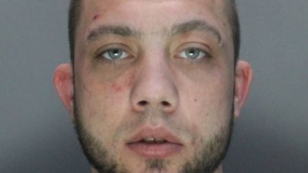 Luke Ward, 30, of High Avenue in Letchworth, has been jailed. Photo: Herts police