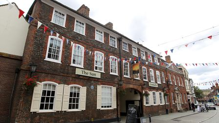 The Sun Hotel, where the public meeting was held. Picture: Harry Hubbard