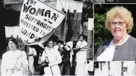 Councillor Lynda Needham has given her thoughts after the 100th anniversary of women's suffrage this