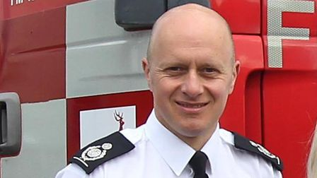 Chief Fire Officer Darryl Keen. Picture: Harry Hubbard