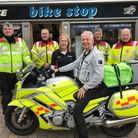 A major open weekend brought the sound of motorcycle engines to the Bike Stop shop in Stevenage Old