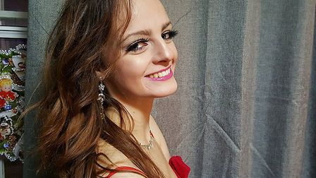 Miss Hertfordshire finalist Georgie Snowden wants to dispel myths about eating disorders and beauty