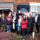 Mrs Maureen Hobson, owner of the house in Orchard Road, and her family. Picture: Pearldrop, Stevenag
