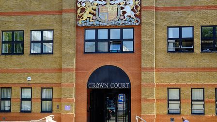 St Albans Crown Court, where the three burglars were jailed. Picture: Danny Loo
