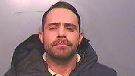 Lee Hallett, from Potton, who has been jailed for 15 months. Picture: Beds police