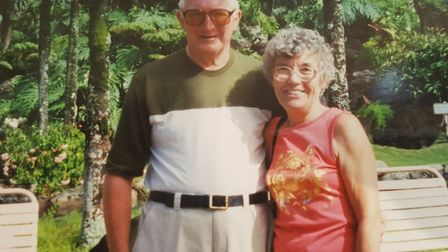 Wally and Audrey Catterill have been married for almost 60 years, but they no longer recognise each