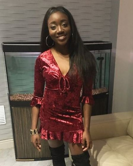 Anna-Marie Uzokwe has won through to the final of Miss Teen Galaxy England 2018. Picture courtesy of