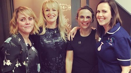 Jessica Donald, Helen Wallace, Abi Gregory and Annie Coles. Picture: Salon EightyFour