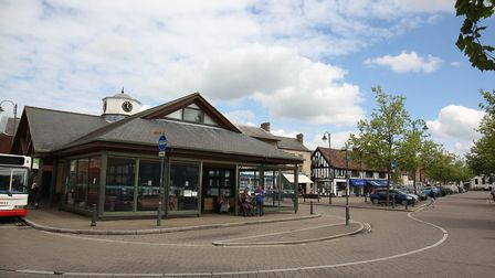 Century House in Biggleswade town centre, where the defibrillator is intended to be installed. Pictu