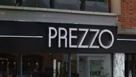 Prezzo is closing its restaurant in Stevenage High Street. Picture: Google Street View