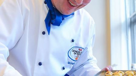 Michael has some 29 years experience in catering. Pictures: LACA