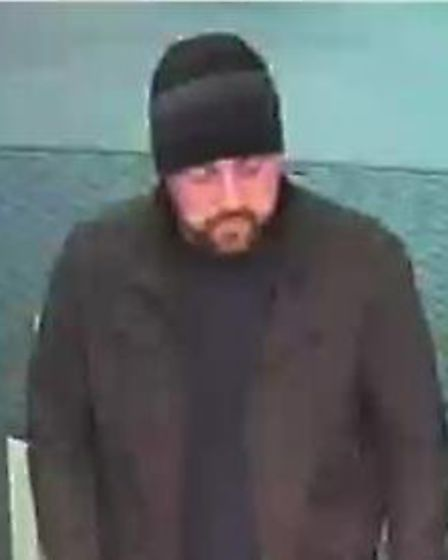 Police want to speak to this man in connection with an alleged kidnap in Letchworth. Picture: Herts