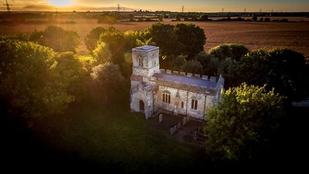 Caldecote Church. Picture: Complete Property Photography