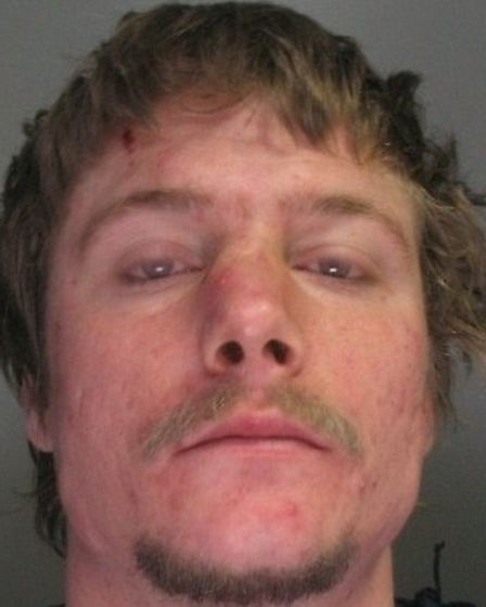Scott Wood, 37, whose last known address is Ely Close in Stevenage, is wanted for failing to appear