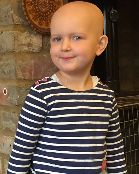 Tiggy Smallwood lost all her hair during chemotherapy treatment. Picture: courtesy of Jasmin Julia G