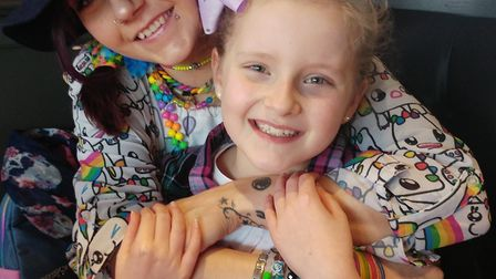 Ruth Bussey and her daughter Starla both have epilepsy. Picture: courtesy of Epilepsy Action.