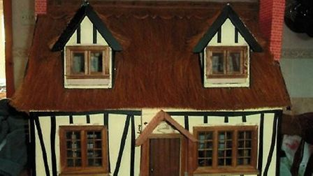 The restored dolls house stolen in a burglary in Hitchin. Picture: Herts police