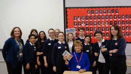 Miriam Ross attended the North Herts Books awards where students discussed their favourite from a se