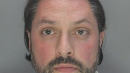 Former police officer Garry Wells-Burr, who was jailed for six years on Friday. Picture: Herts polic
