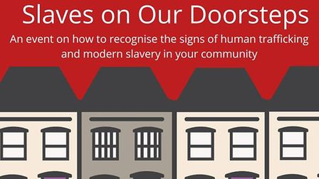 Caritas is holding the event Slaves On Our Doorsteps to raise awareness of human trafficking and mod