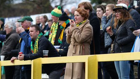 Crowds at Hitchin Town. Picture: Kevin Lines