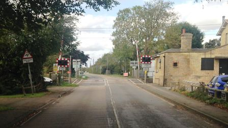 Network Rail is set to carry safety improvements at Shepreth level crossing on Station Road next mon