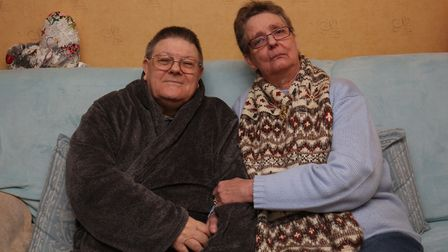 Jean and Andrew Innes have been without heating in their house after their boiler broke nearly two w