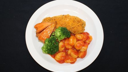 The main dish prepared by Michael Goulston for Herts County Council members. Picture: Herts County C