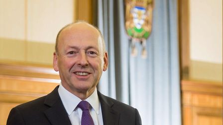 David Williams, leader of Hertfordshire County Council. Picture: Pete Stevens.