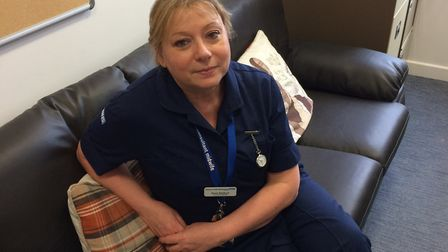 Consultant midwife Rose Bedford. Picture: East and North Herts NHS Trust.