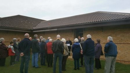The opening of the new Potton History Society annexe. Picture: Potton History Society