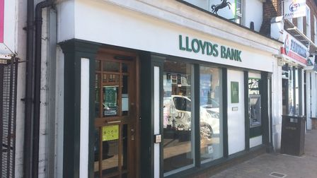 Stevenage Old Town's Lloyds branch is set to close, the bank have confirmed. Picture: Dan Mountney