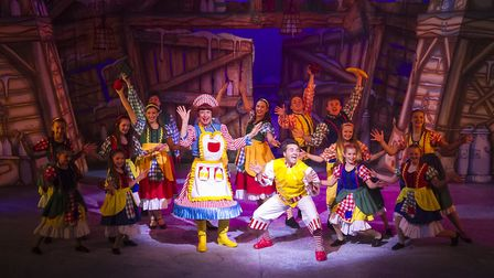 Pantomime Jack and the Beanstalk at the Gordon Craig Theatre in Stevenage [Picture: Martin Smith at