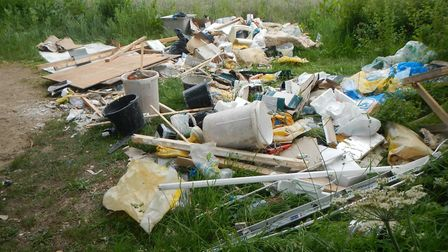 Hitchin-based Hermes Collection Ltd pleaded guilty to fly-tipping on Letchworth's Greenway. Picture: